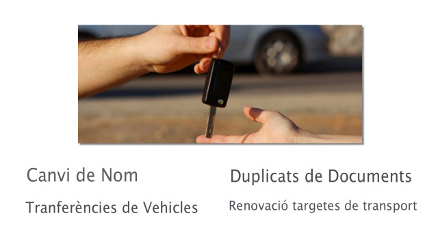 Transferències Vehicles